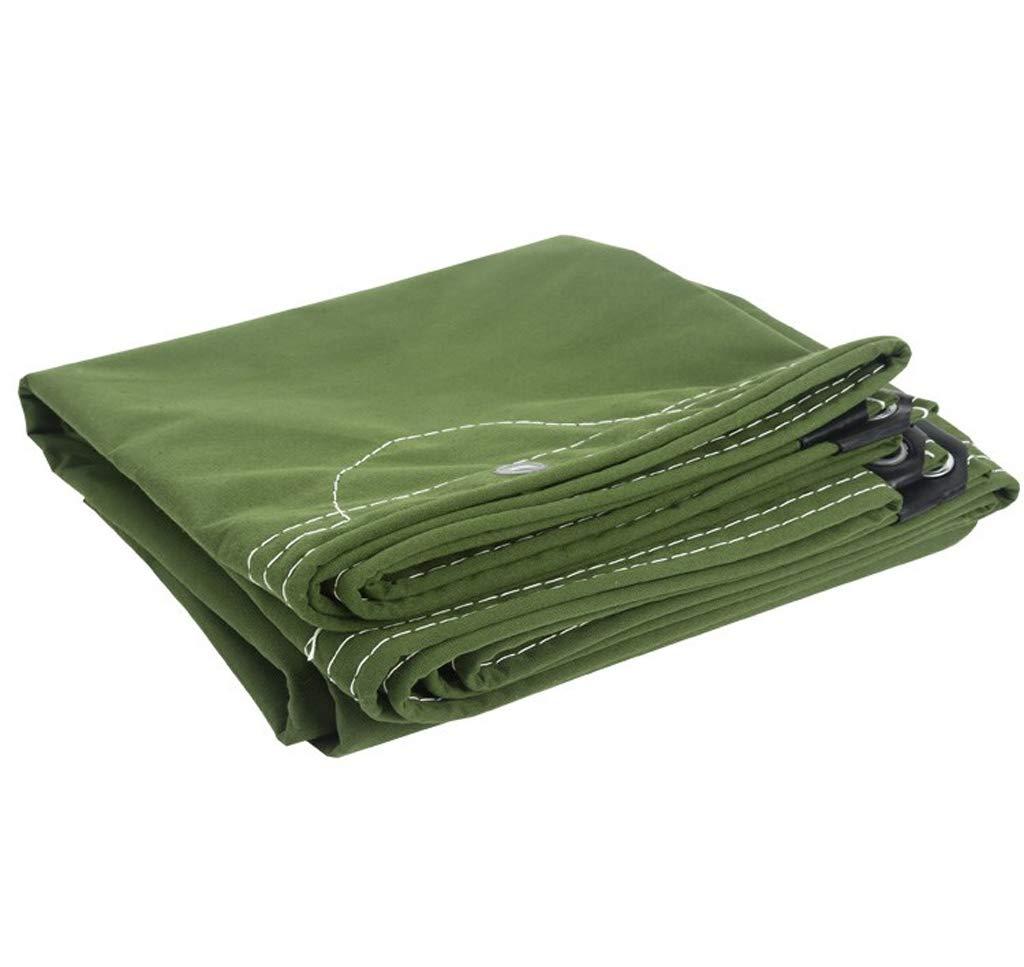Spedizione gratuita al 100% Yuke Yuke Yuke Addensare Telone Impermeabile Tarpa Antipioggia Telo coprimoto Tenda Tenda da Sole Resistente all'Aria Aperta (Dimensioni   4x4m)  negozio online