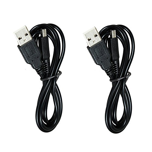 Disney Sun Pals (Mondpalast 2x Replacement USB Charging Cable 1.2M Power Supply for NINTENDO Nintendo 3DS 3ds XL 2DS DSi DSI XL)