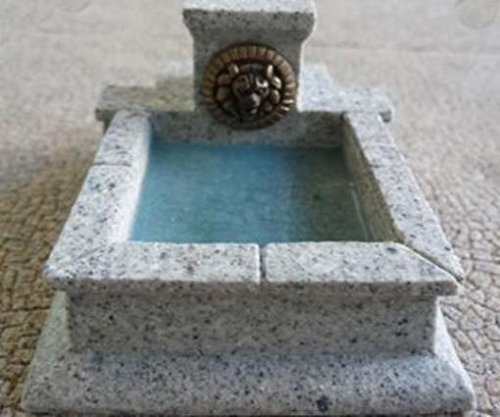 Marble Lion Fountain