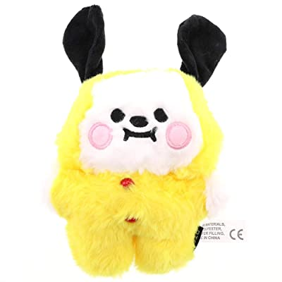 Jacobera BTS Plush CHIMMY Cooky KOYA SHOOKY MANG RJ TATA Plush Figure Doll Toy, Home Room Sofa Decor(CHIMMY): Kitchen & Dining