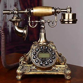 Telefono Fijo Vintagemoda para El Hogar, Creatividad, Pantalla De ...