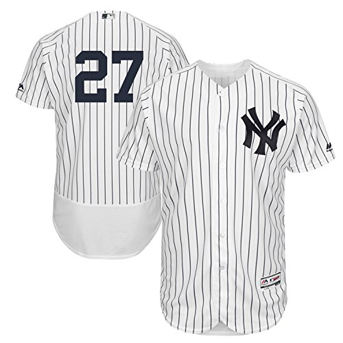 Majestic Athletic Men's Giancarlo Stanton White New York Yankees Flex Base Authentic Collection Player Jersey – DiZiSports Store