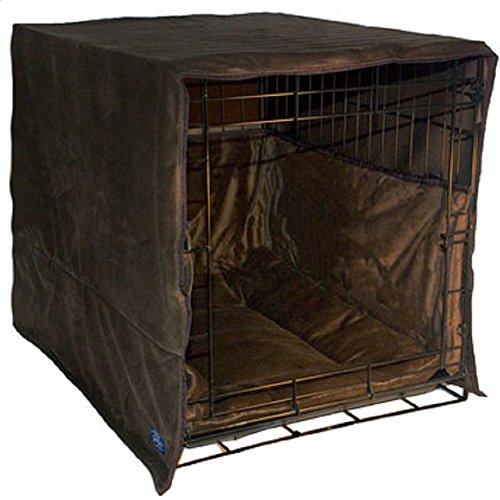 New Double Door 3 Piece Crate Bedding Set. THE ORIGINAL CRATE COVER, CRATE PAD AND BUMPER JUST GOT BETTER! XX-Large Fits 48