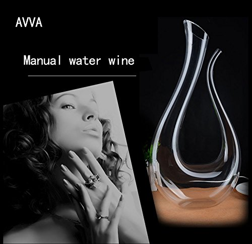 AVVA-Water-droplets-shape-wine-50-oz-1500-ml-Perfect-Birthday-Gift-for-Men-or-Women-Unique-Gifts-for-question-or-its-ehrs-Coworkers-Mom-Dad-Son-Daughter-Husband-or-Wife