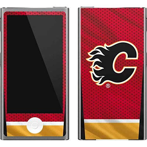 Skinit NHL Calgary Flames iPod Nano (7th Gen&2012) Skin - Calgary Flames Home Jersey Design - Ultra Thin, Lightweight Vinyl Decal Protection