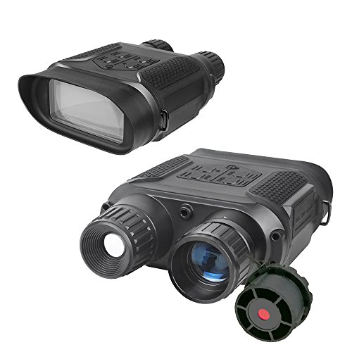 Bestguarder NV-800 7X31mm Digital Infrared Night Vision Hunting Binocular / Scope With Large Viewing Screen and Camera & Camcorder Function Take Day and Night IR Photo & Video From - Computer Goggles Monitor For