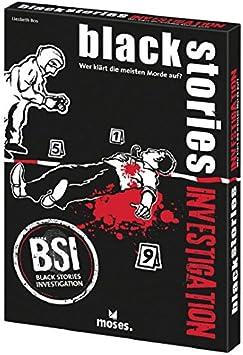 Gen X Games- Party Game Black Stories Investigación, Multicolor (GXG200417): Amazon.es: Juguetes y juegos