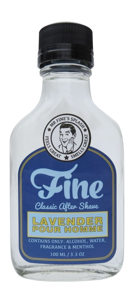 Fine Accoutrements, dopobarba Fine Classic alla lavanda, 100ml (lingua italiana non garantita) AMAZFINE08