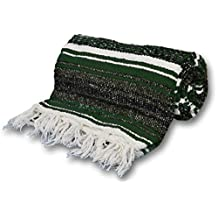 YogaAccessories (TM) Extra Heavy Mexican Yoga Blanket