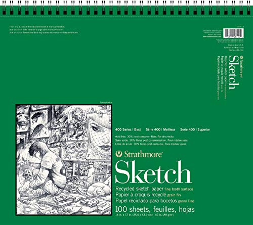 Strathmore 400 Series Recycled Sketch Pad, 14