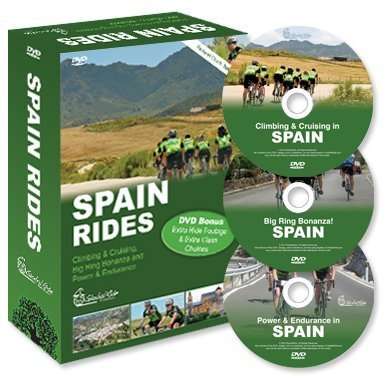 (Global Ride: Spain Series Virtual Cycling DVDs Boxed Set)
