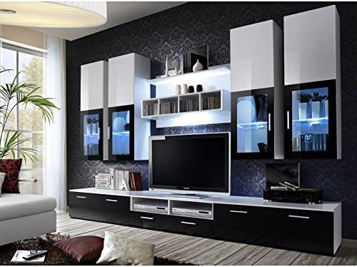 Conjunto TV – Lyra – blanco y negro: Amazon.es: Hogar