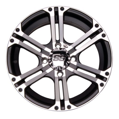 4/137_12mm ITP SS212 Alloy Series Wheel 14x8 5.0 + 3.0 Machined KAWASAKI Teryx 750 Teryx4 750 by ITP