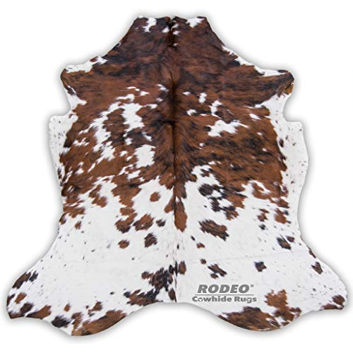 Rodeo Superior Cowhides Rug Large - Cowhide Rodeo Western