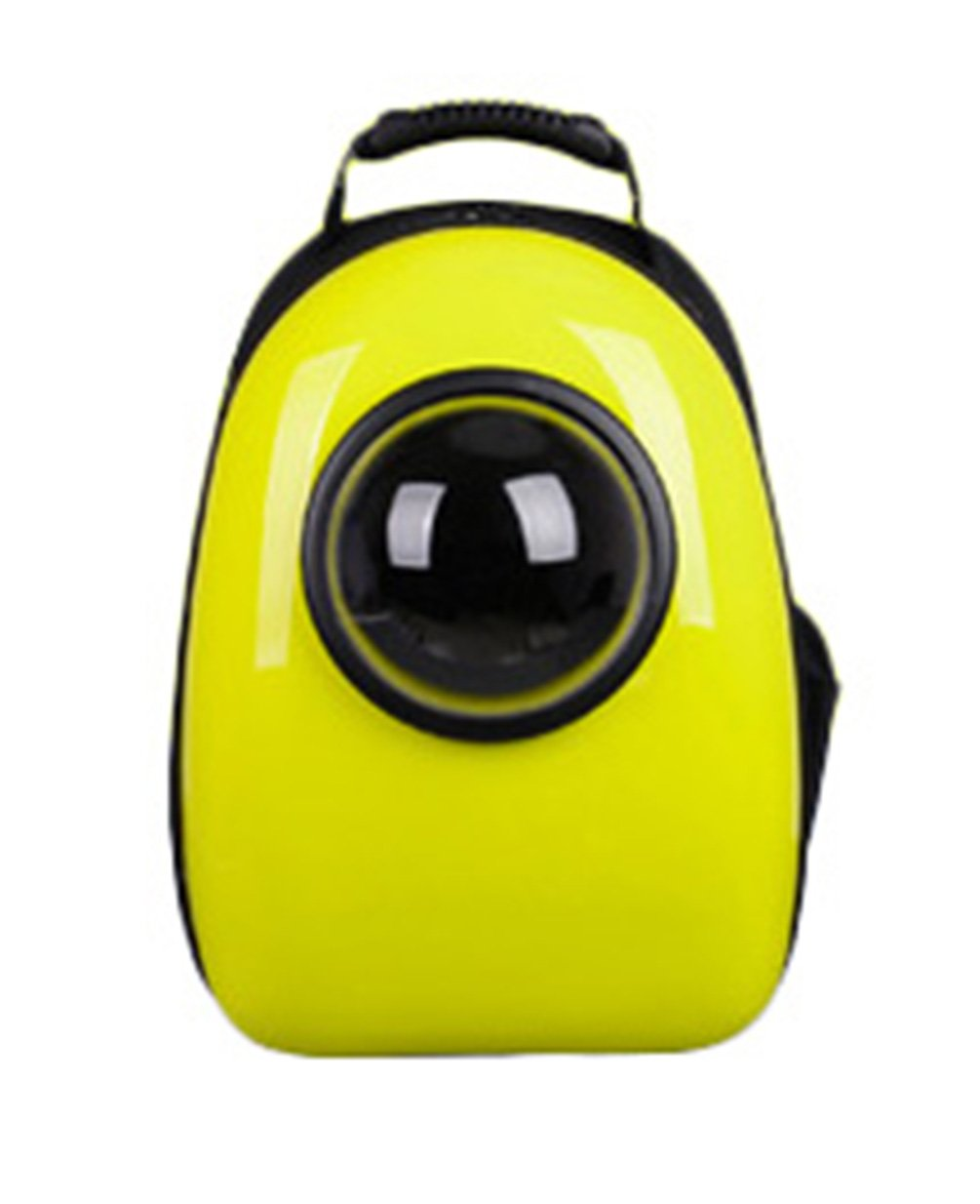 Uniquorn Portable Breathable Capsule Outdoor Travel Backpack Pet Cats Dogs Bag Suitcase yellow