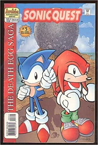 Sonic Quest The Death Egg Saga 3 Sonic The Hedgehog Amazon Com Books
