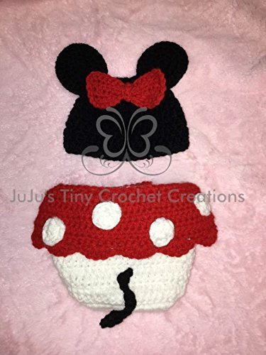 Crocheted Mouse - 8