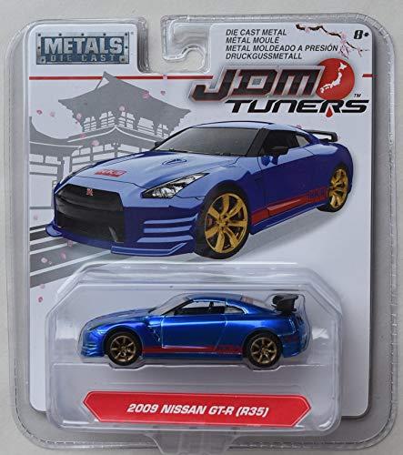 JDM Tuners Jada 2009 Nissan GT-R, Blue