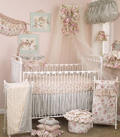 Cotton Tale Designs Tea Party Bedding Set, 7 Piece (Cotton Tale Tea Party Bedding)