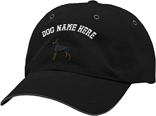 Custom Richardson Running Cap Rottweiler Puppy Embroidery Dog Name Polyester Hat