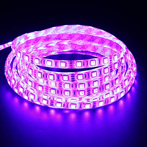 LMNOP 4 Meter LED Strip (Pink) + Adapter, Decorative Light (SMD 5050), LowPrice Festiveal, Ceiling Light, Home,Office…