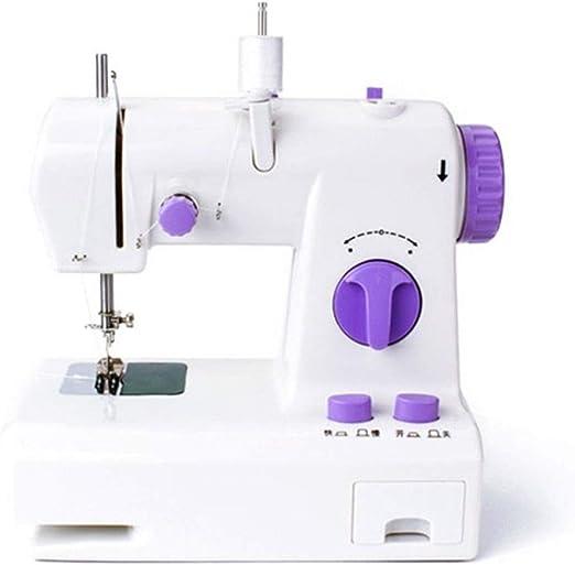 DYW-Sewing machine Máquina de Coser portátil Pequeñas máquinas de ...