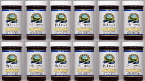 Naturessunshine Hi Lipase Supports Digestive System (120 LU) 100 Capsules (Pack of 12) by Nature's Sunshine (Image #2)