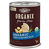 Castor & Pollux Organix Organic Grain Free Organic Turkey & Vegetable Recipe Wet Dog Food, 12.7 Oz., Case Of 12 Cans