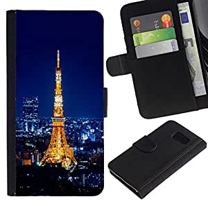 All Phone Most Case / Oferta Especial Cáscara Funda de cuero Monedero Cubierta de proteccion Caso / Wallet Case for Sony Xperia Z3 Compact // EIFFEL TOWER PARI - TOUR EIFFEL