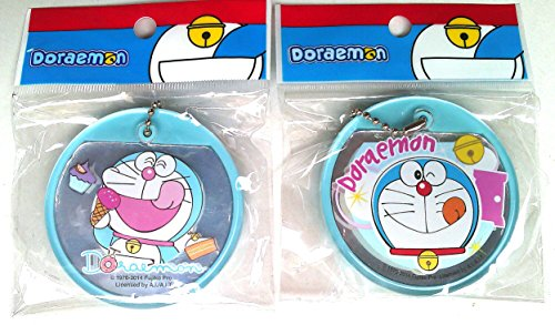 Doraemon Keychain key fob mix mirror (sliding), Very - Keepsake Stuffer Balloon Machine