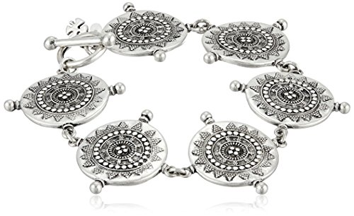 Lucky Brand Silver Tribal Bracelet product image