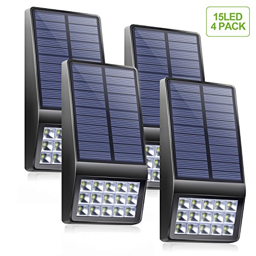 Solar Powered Pillar Lights - 5