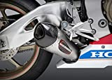 12202BP520 YOSHIMURA Street Alpha Stainless Slip-on for 2017 Honda CBR1000RR/SP/SP2, 12202BP520
