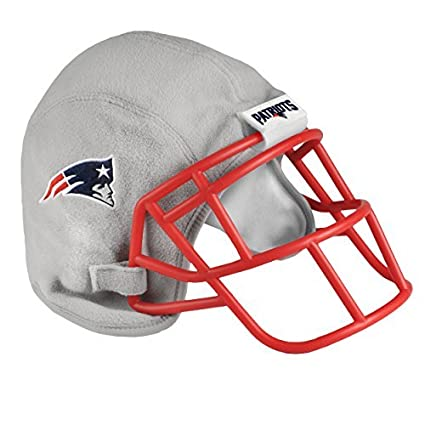 8c4aee466e9 Amazon.com   Forever Collectibles NFL New England Patriots Plush Helmet Hat    Sports   Outdoors