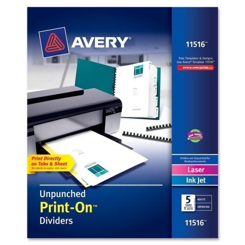 AVE11516 - Avery Print-On Dividers