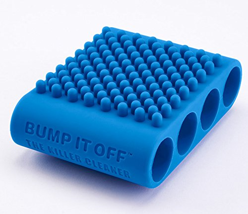 Price comparison product image BUMP IT OFF Multi-Use Silicone Cleaning Tool for LAUNDRY – KITCHEN - PETS - SPA & BEAUTY / BLUE