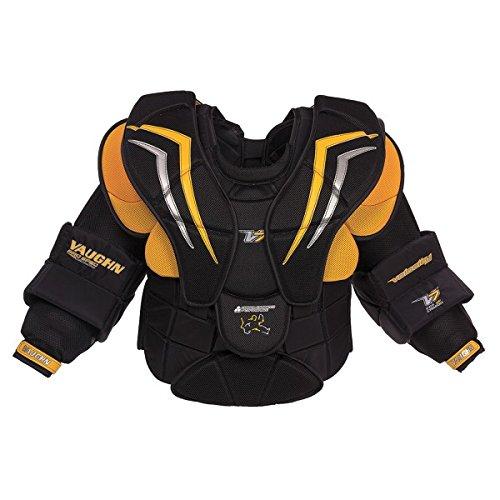 Vaughn Velocity XF Pro Carbon Chest & Arm Protector Men, size:XL;color:schwarz/gold/silber