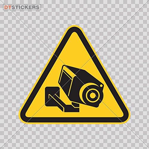 Decal Camera Cctv Video Surveillance Sign Car window jet ski video surveillance symbol graphic (2 X 1,77 Inches) Fully Waterproof Printed vinyl (Digital Camera Jet)