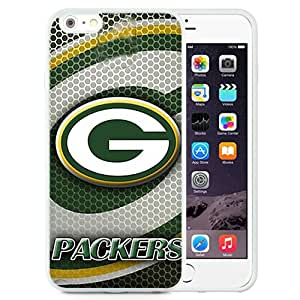 Unique and Durable Iphone 6 Plus Case Design with Green Bay Packers 3 iphone 6 Plus 5.5 Inch TPU Case in White