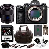 Sony a9 Full Frame Mirrorless Camera w/ Sonnar T FE 55mm F1.8 ZA Camera Lens