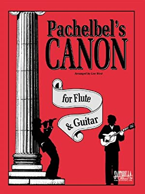 Pachelbels Canon for Flute & Guitar: West, Lee: Amazon.es ...