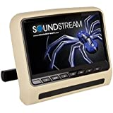 Soundstream SHAD-9H Universal Headrest Mount DVD Player with 9 LCD/MobileLink Input