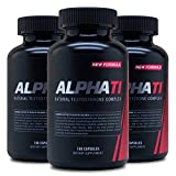 Alpha T1 (180 Caps) (3 Pack) - Testosterone Complex - Natural Testosterone Supplement