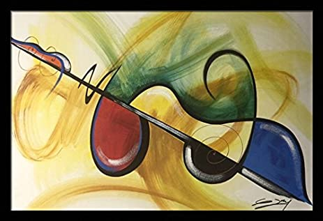 Amazon.com: Flavor Of Music, Music, Guitar, Abstract - Gerald Ivey ...