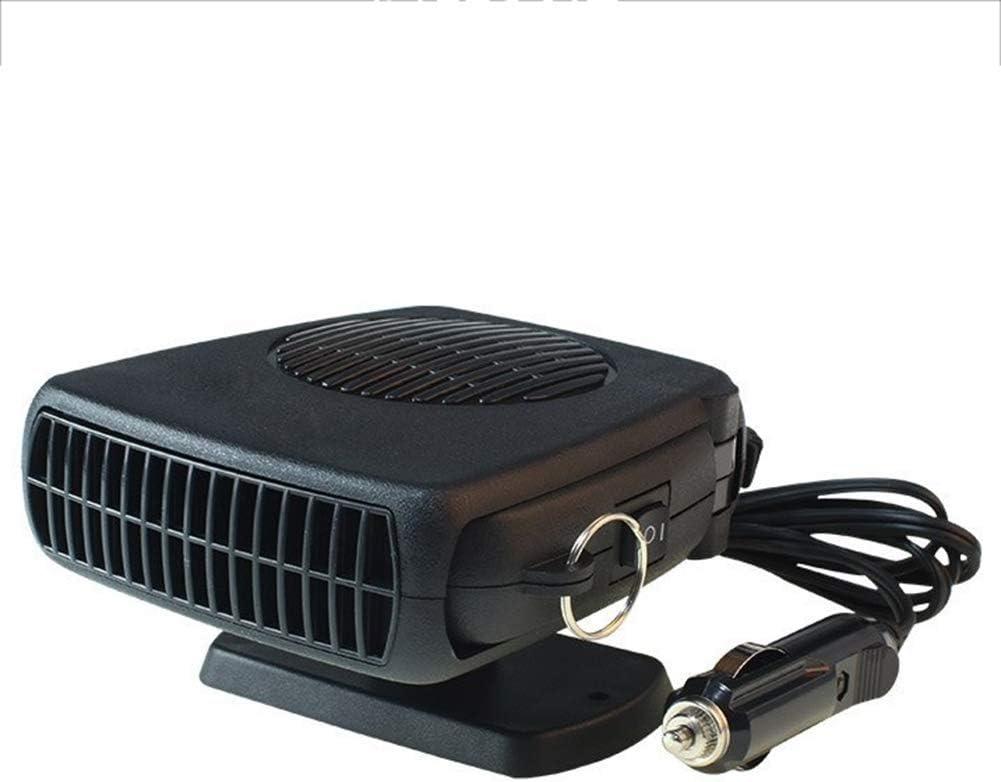 smzzz descongelador calefacción del Coche 24v portátil 12V150W enchufa el mechero rápidamente Ventilador de refrigeración de Invierno Parabrisas de desempañado del Cristal: Amazon.es: Deportes y aire libre