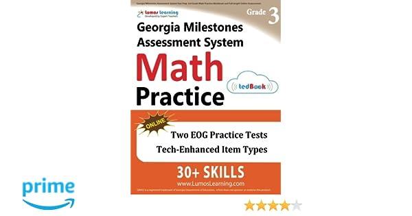 Georgia Milestones Assessment System Test Prep: 3rd Grade Math ...