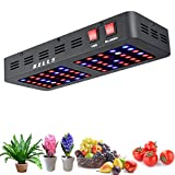 Cheap Wills Newest Reflector Series 600W LED Grow Light UV IR Full Spectrum Triple-chip Plant VEG&BLOOM Flower LED Plant Growing Lamp for Tomato Veg Indoor Garden Growth (10W Leds)