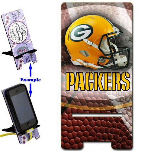 Packers Smartphone image STAND / Holder for cell phones iPhone Samsung Galaxy Great Gift Idea Green Bay Football