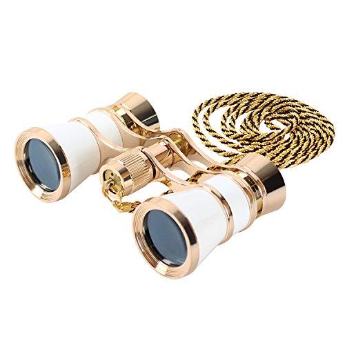 Aomekie 3X25 Theater Opera Glasses Binoculars for Concert Ho