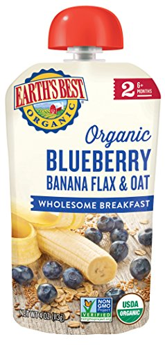 Earths Best Blueberry Breakfast Packaging